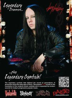 Joey Jordison - Slipknot drummer