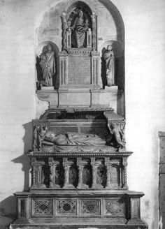 Tomb of Cardinal de Braye by ARNOLFO DI CAMBIO #art