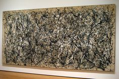 Number 1950 1950 Jackson Pollock Oil and Enamel Paint on Canvas MoMA, The Museum of Modern Art, New York City Sidney and Harriet Janis Collection Fund Action Painting, Drip Painting, Painting Abstract, Jackson Pollock, Max Ernst, Pablo Picasso, Most Expensive Painting, Guernica, Enamel Paint