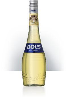 Bols Elderflower! / Bols Hyldeblomst!  Bols Hyldeblomstlikør - en skøn likør som kan bruges i et utal af cocktails. Prøv f.eks. Bols Hyldeblomst med Champagne - en simpel lækker cocktails.