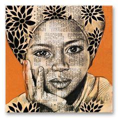 Drawing Portraits - Stéphanie Ledoux - Carnets de voyage - Saida aux fleurs - Discover The Secrets Of Drawing Realistic Pencil Portraits.Let Me Show You How You Too Can Draw Realistic Pencil Portraits With My Truly Step-by-Step Guide. Portrait Au Crayon, L'art Du Portrait, Pencil Portrait, Amazing Drawings, Realistic Drawings, Art Drawings, Art Du Collage, Collage Ideas, Art Visage