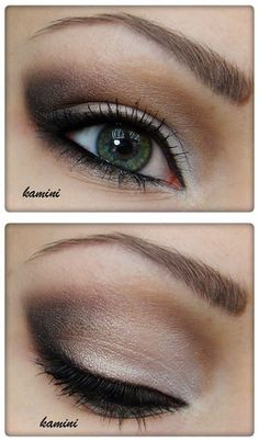 copied this with the naked palette. great for blue eyesI copied this with the naked palette. great for blue eyes All Things Beauty, Beauty Make Up, Hair Beauty, Love Makeup, Makeup Tips, Makeup Looks, Prom Makeup, Wedding Makeup, Homecoming Makeup
