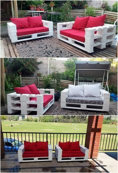 Here we have listed down the unique looking wooden pallet outdoor couch creation for you. We are sure that placing this design of amazing couch piece will look like as a part of sophistication all around. It is customized with the vertical arrangement of the pallet planks that look so splendid.