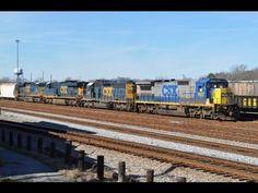 Railfanning Amtrak and CSX in Florence, South Carolina - YouTube
