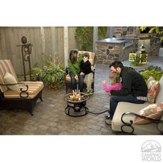 Redwood Portable Propane Fire Pit - Camp Chef GCLOGD - Campfire & Outdoor Fireplaces - Camping World