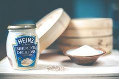 Make sushi gif- Mini sushi cake con mayonesa Heinz Realmente Deliciosa - Petit-On