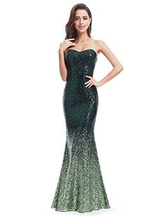 New Ever-Pretty Strapless Fishtail Sequins Evening Gown 07001 online. Perfect on the Marc New York Performance Dresses from top store. Sku ujgh54987oude12871