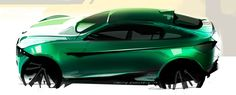 Car sketch by Vasiliy Kanevskiy | Car Design Education Tips