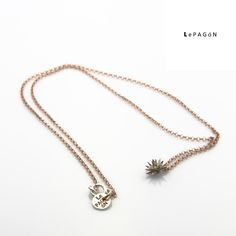 #buenosdias !! #gargantilla #mimosa en #plata con baño en oro rosa #newcollection  http://www.lepagon.com/gargantilla-mimosa_67.htm - Only for #elegant #women - #LePAGoN #Madrid  #joyas #hechoamano #handmade #jewelry #moda #estilo #tendencias #accesorios #complementos #fashion #style #design #minimal #lessismore #beautiful #love #flower #stars