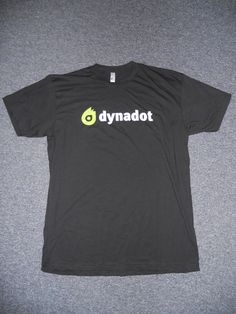 Our new Dynadot T-shirts from UberPrints! Follow us on Facebook, Twitter, LinkedIn, & Google+ for your chance to win one!