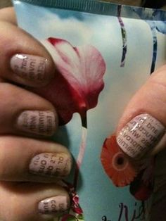 For news-worthy nails