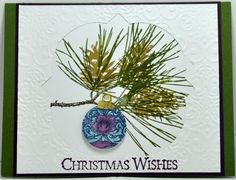 Ornamental Pine3 bensarmom by bensarmom - Cards and Paper Crafts at Splitcoaststampers