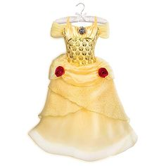 Deluxe~BELLE~Costume~BABY~Infant+GLOVES~NWT~Beauty and the Beast~Disney Store