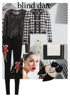 """""""Untitled #181"""" by dcdancer6302 on Polyvore featuring Boutique Moschino, CÉLINE, Topshop, MANGO and WearAll"""