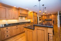 We love this kitchen in one of the homes we recently sold. Beautiful space so thought we'd share it with you!
