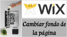 Wix 2017 - Cambiar fondo de la página (español)