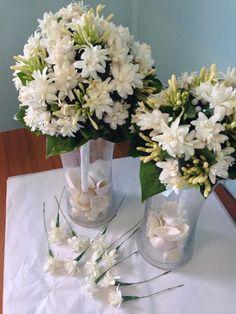 Wedding Flowers, Glass Vase, Bouquet, Vanuatu, Table Decorations, Island, Home Decor, Decoration Home, Room Decor