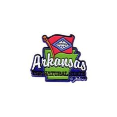 Ddi Arkansas Magnet 2d Map/flag (pack Of 72), Multicolor