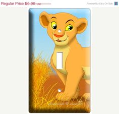 ON SALE NOW Lion King Young baby girl Nala Disneys by DecorLounge, $6.64