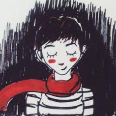 #art #arte #cartoon #desenho #drawing #happy #illustration #ink #inspiration #markers #meditation #painting #peace #portrait #red #rose #roselices #sketch #sketchbook #stripes