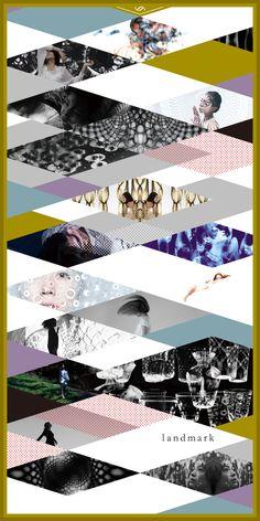 """solo exhibition vol.2 """"l a n d m a r k """"/ DM"""