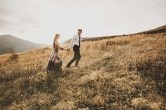 Laura + Reed Mountainside Engagements – India Earl Photography
