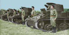 Colorized KNIL Tankeenheid 1942 Dutch East Indies, Armored Vehicles, Military Vehicles, Ww2, Tractors, Tanks, Westerns, Army, Projects
