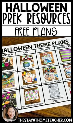 Halloween Themed Books and Activities for Preschoolers | The Stay-at-Home Teacher