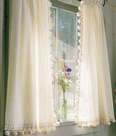 Идеи для пошива кухонных штор и занавесок