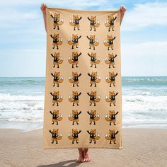 Give your bathroom a vibrant look and wrap yourself up with this super soft and cozy all-over sublimation towel. Lovely hardrock fox towel for all who love hardrock fox. Is this hardrock fox bath towel for you or is the hardrock fox beach towel a present?