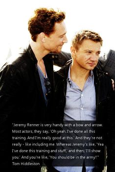 """The first time I heard my niece talking about """"Hawkeye,"""" I thought she was…"""
