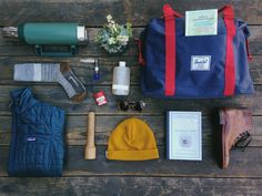 Ready for the Outdoors. Photographed by The Seed People's Market and featuring the Strand Duffle.