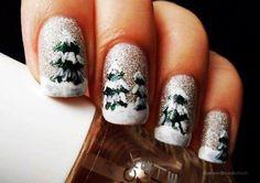 Simple & Easy Christmas Nail Art Designs & Ideas 2013/ 2014 | Girlshue