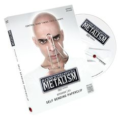 Metalism: Episode 01 - Self Bending Paperclip (DVD and Props) - $45.00  Menny Lindenfeld, teaches you two methods (gimmick and impromptu versions) to perform a powerful and highly visual metal bending effect with an easy-to-find object, a paperclip! Learn to fully control bend timing, pace and shape, while causing the paperclip to impossibly bend by itself.  Click This Link for More Info: Your One Stop Magic Shop: MJMMagic.com