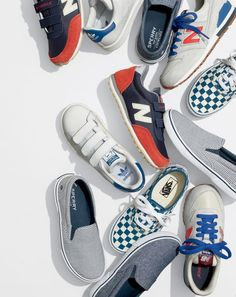 """J.Crew sneaker talk overheard at recess… """"My sneakers are magic. They glow in the dark, which is so cool except when we play hide-and-go-seek."""""""