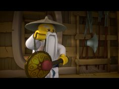 Sensei Wu with the wakeup gong! Ninja Birthday, Lego Ninjago, All The Way, Water, Celebration, Meet, Paradise, Gripe Water, Aqua