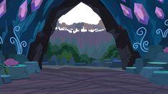 deviantart mlp scenery cave