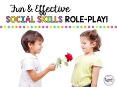 Fun & effective social skills role-play
