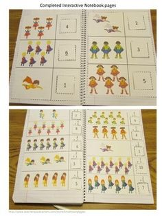 "Interactive Notebook: Students love hands on activities. Interactive Notebook Activities give them ""a hands on"" experiences. With these Superhero Math Interactive Notebook Cut and Paste Activities students will be able to practice number matching, counting, addition and subtraction. This Superhero Math packet contains 15 space themed worksheets."