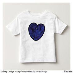 Galaxy Design stampsbaby t-shirt