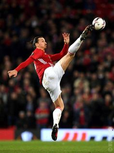 Action of Zlatan