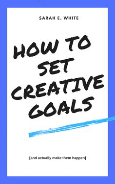 Learn how to set creative goals and make them happen with my quick guide to developing achievable goals and making them fit into your daily life. Diy Wedding On A Budget, Diy Wedding Cake, Diy Wedding Backdrop, Homemade Paint, Homemade Masks, Homemade Crafts, Mason Jar Crafts, Mason Jar Diy, Cricut Craft Room