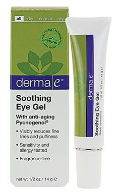 derma e Pycnogenol Eye Gel with Green Tea Extract 05 oz 14 g Pack of 2 * Check out the image by visiting the link.(This is an Amazon affiliate link and I receive a commission for the sales)