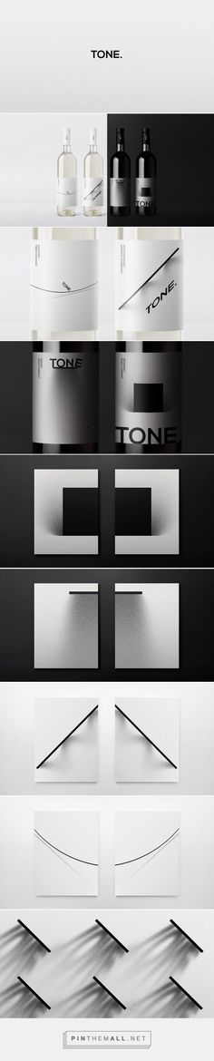Tone. Wine Packaging Design by Nikita Ivanov (Russia) - http://www.packagingoftheworld.com/2016/05/tone-wine.html