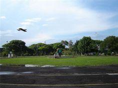 pista redonda de de aeromodelismo proxima a de kart