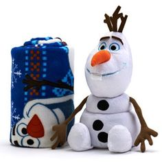 Disney Frozen Olaf 2-pc. Pillow & Throw Set #Kohls #FrozenFunAtKohls
