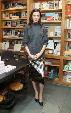Alexa Chung Style - Best Dresses & Fashion Outfits | Grazia Fashion