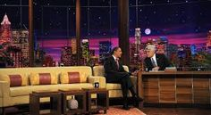 "Plató late night ""The Tonight Show""."