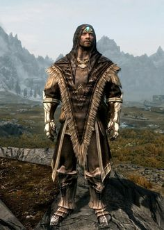"""Hero"" by Ocean Splitter Archmage Robes Dragonplate Boots Ancient Falmer Gauntlets Aetherial Crown"