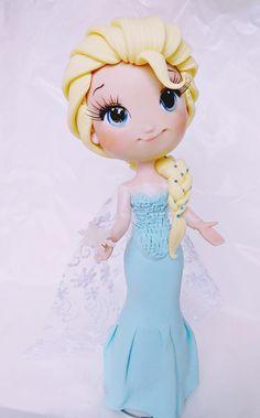Elsa e Anna Customizadas 25cm | Criativ Arts | Elo7